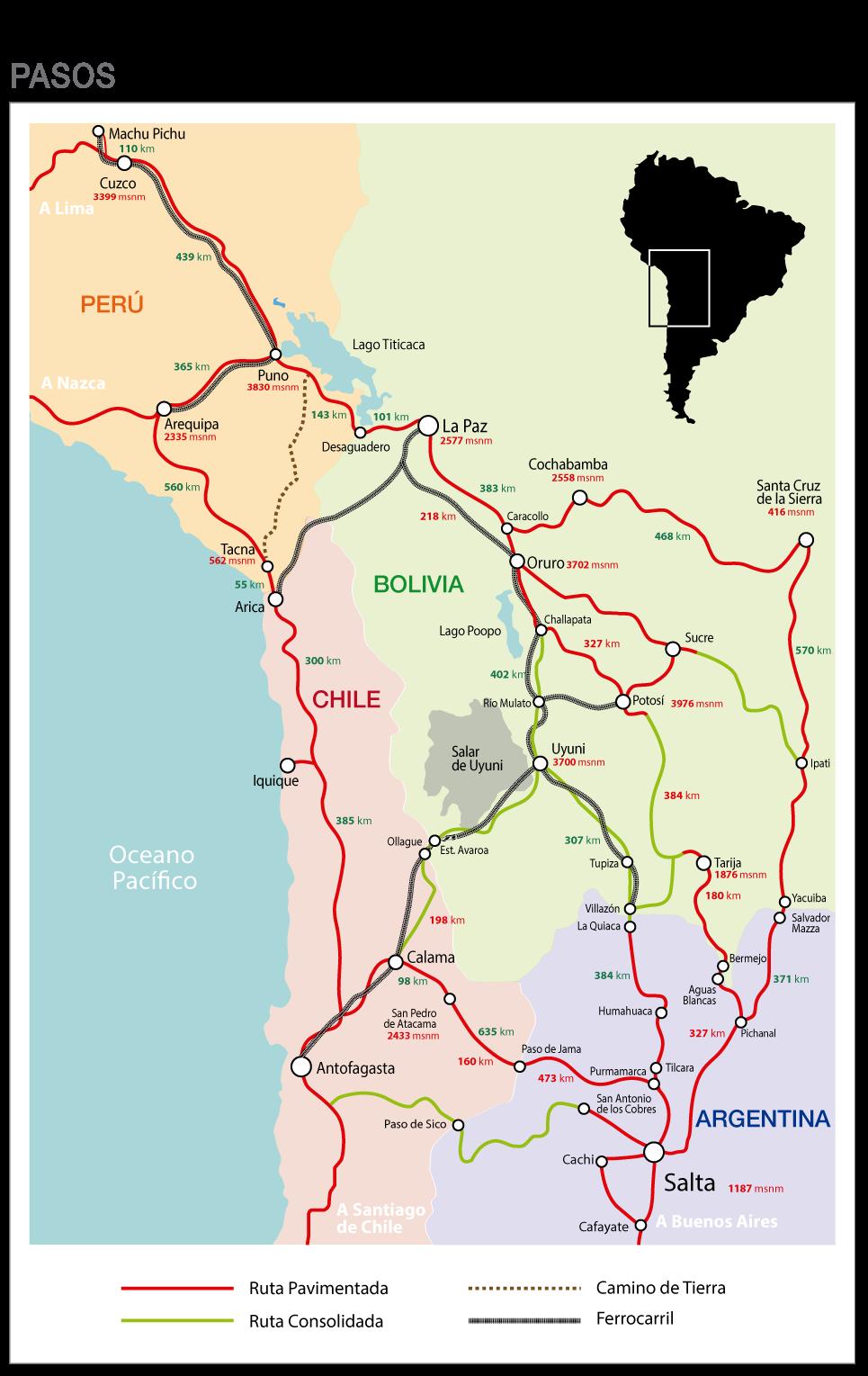 Mapa de área de influencia